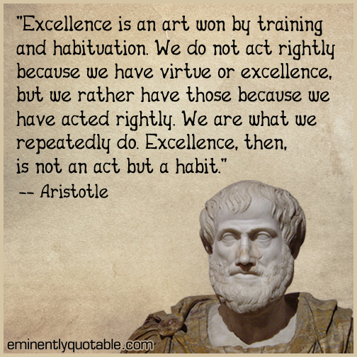Excellence-is-an-art-won-by-training